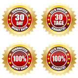 30 day money back guaranteed. Satisfaction Royalty Free Stock Photos