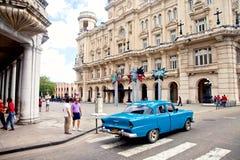 30 Havana-DECEMBER: Straat in het oude deel van de stad 3 December Royalty-vrije Stock Foto's