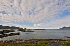 30 północ Norway Zdjęcia Royalty Free