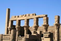 30 philae寺庙 库存照片