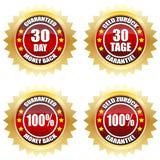 30 plecy dzień gwarantowany pieniądze Zdjęcia Royalty Free