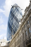 30 St Mary Axe, Augurk Royalty-vrije Stock Fotografie