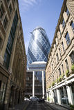 30 St Mary Axe, Augurk Stock Foto