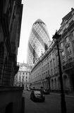 30 St Mary Axe, Augurk Stock Foto's