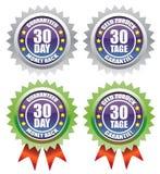 30 terug gewaarborgd daggeld Royalty-vrije Stock Foto's