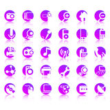 30 Vector Icons Stock Photos