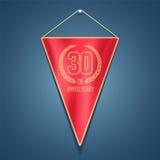 30 years anniversary vector icon, logo Stock Photo
