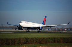 300家a330航空公司Delta 库存照片
