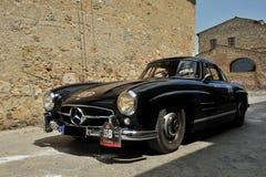 300 1956 benz ja Mercedes sl w198 Zdjęcia Royalty Free