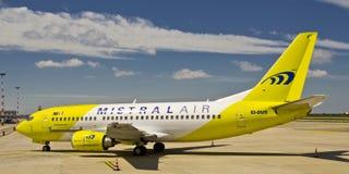 300 737宣扬波音密斯脱拉风 免版税库存图片