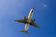300 737 αεροπλάνο Boeing Στοκ εικόνες με δικαίωμα ελεύθερης χρήσης
