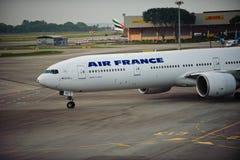 300 777法航 免版税库存照片