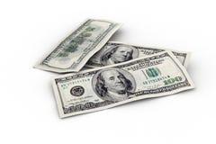 300 dólares americanos Fotografia de Stock