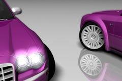 300 purpur Zdjęcie Stock