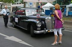 300d苯汽车默西迪丝键入 免版税库存照片