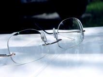 眼睛玻璃 免版税库存照片