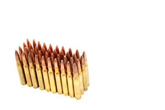 .306 Munitions de fusil de calibre Photographie stock