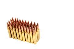 .306 Munizioni del fucile di calibro Fotografia Stock