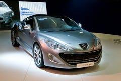308 kruszcowy Peugeot fotografia stock