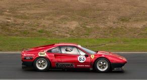 308gtb汽车ferrari赛跑的速度 免版税库存照片
