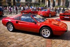 308gts dzień Ferrari przedstawienie Fotografia Stock