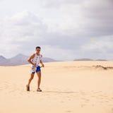 30个corralejo 10月赛跑者 库存图片