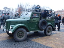 30o aniversário da lei marcial, Lublin, Poland Foto de Stock