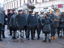 30th anniversary of Martial Law, Lublin, Poland Stock Photos