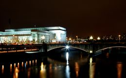30th Street Bridge. Philadelphia royalty free stock image