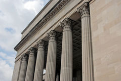 30th street station philly. The pillars at 30th street station in Philadelphia Royalty Free Stock Photos