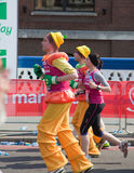 31ème Marathon de Londres Image libre de droits