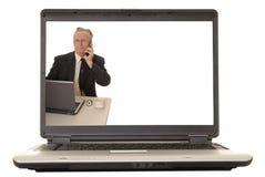 31个生意人前辈 免版税库存图片