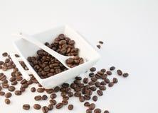 31粒豆咖啡 库存图片
