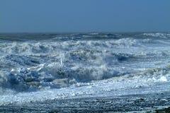 31风雨如磐的海运 库存照片