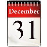 31 календар декабрь иллюстрация вектора