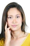 31 asiatiska attraktiva flickabarn Arkivbilder