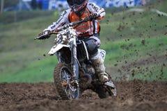 31 sulios för motocros för 65 cc grupphristos Royaltyfri Bild