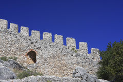 310 alanya城堡 免版税库存图片