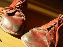 第一双鞋子 免版税图库摄影