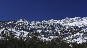 318 Snow covered mountains in Turkey Royalty Free Stock Photos