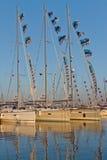 31ro Demostración internacional del barco de Estambul Fotografía de archivo