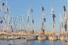 31ro Demostración internacional del barco de Estambul Fotos de archivo