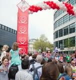 31ro Maratón de Londres Fotos de archivo