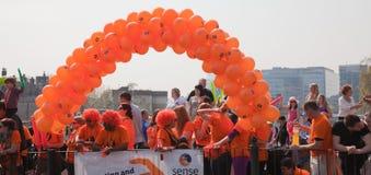 31ro Maratón de Londres Imagen de archivo libre de regalías