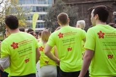 31ro Maratón de Londres Fotografía de archivo libre de regalías