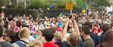 31ro Maratón de Londres Imagen de archivo