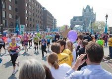 31ro Maratón de Londres Foto de archivo libre de regalías