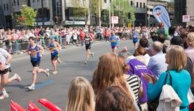 31ro Maratón de Londres Fotografía de archivo