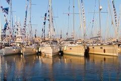 31st LandskampIstanbul båtmässa Arkivfoto