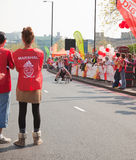 31st London Marathon Stock Image